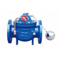 Buy cheap Diaphragm Actuator Hydraulic Control Valves , PN6 Cast Iron Water Floating Ball Valve from wholesalers