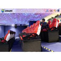 Buy cheap High Technology Motion 5D Cinema Simulator Theater Seating With Cup Holder from wholesalers