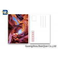 Buy cheap PET Seascape Pantone Color 3D Lenticular Printing Postcards For Greeting 10.5 X 14.8cm from wholesalers