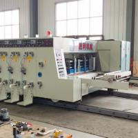Buy cheap Automatic Corrugated Die Cutter Printer With PLC Control System from wholesalers