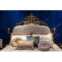 Buy cheap kingbed Furniture for bedroom modern royal luxury master wooden bed TA-028 from wholesalers
