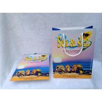 Buy cheap Supermarket Paper Shopping Bags , Custom Paper Bags With Twisted Handles from wholesalers