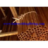 Buy cheap Round Seamless Copper Tube With ASTM B42 For Air Conditioning from wholesalers