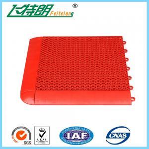 Buy cheap Outdoor Interlocking Rubber Floor Tiles Kindergarten Playground Plastic Flooring product