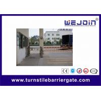 Buy cheap DC24 Brush Motor SS Vehicle Barrier Swing Gate Access Control System from wholesalers