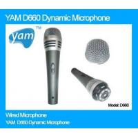 China YAM D660 Dynamic Microphone on sale
