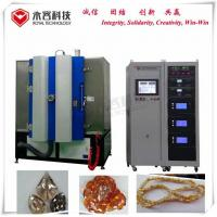 Buy cheap Amber Color Glass Products PVD Coating Machine, Arc Evaporation Plating Machine on Glass beads from wholesalers