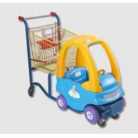 Buy cheap Inoxidable Plastic Shopping Trolley Kids Shopping Carts Galvanised from wholesalers