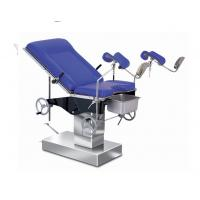 Buy cheap Alluminium Alloy Blue Mattress Labor Control Surgery Bed With Moavable Wheels product