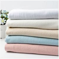 Buy cheap Thick 7s Slub Linen Hand Feeling 100% Cotton Fabric from wholesalers