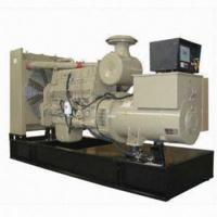 Buy cheap Cummins Engine Open Diesel Generator 50hz And Stamford Alternator from wholesalers
