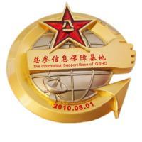 Stamping / Die Casting Custom Sports Medals , Antique Gold Custom Soccer Medals