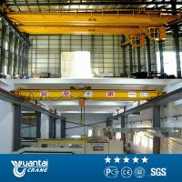 Buy cheap YUANTAI electric hoist double girder overhead crane from wholesalers
