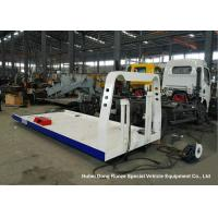 Buy cheap Custom Steel Flatbed Truck Bodies , Car Carrier Wrecker Upper Body from wholesalers