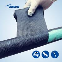 Buy cheap Industry Piping Reinforcement Wraps Emergency Fiber Repair Tape/ Pipe Wrapping Tape/ Armored Fiberglass Fix Bandage from wholesalers