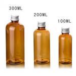 Buy cheap 100ml 200ml 300ml Plastic cosmetic Bottle with Aluminium Screw Cap from wholesalers