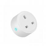Buy cheap UK Standard Tuya WiFi Smart Plug With Power Monitoring from wholesalers