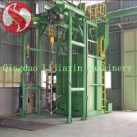 Buy cheap Double Hanger Type Shot Blasting Machine from wholesalers