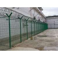 Buy cheap Razor Barbed Wire Anti Climb Airport Security Fencing from wholesalers
