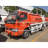 Buy cheap Dongfeng 5m3 5000litres Fuel Delivery Truck Refilling Tanker with Oil Dispenser from wholesalers