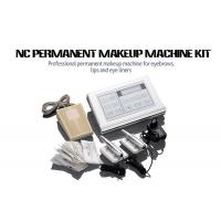 Buy cheap Stainless Steel Permanent Makeup Tattoo Machine Kit With Cartridge Needle from wholesalers