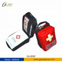 Buy cheap GJ-2032 Oxford Material Big Volume Medium Size Trave / Outdoor / Sports First Aid Kit ISO from wholesalers