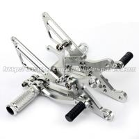 Buy cheap Wear Resistance Motorcycle Rear Set Footrests CNC Aluminum Parts from wholesalers