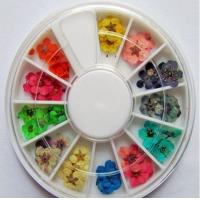 Buy cheap Dried Flowers Dry Acrylic Nail Art Decorations Design from wholesalers