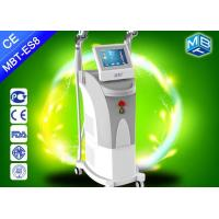 Buy cheap Multifunction beauty e - light ipl + rf laser hair removal / ipl skin rejuvenation machine from wholesalers