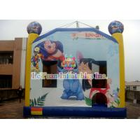 Buy cheap Disney's Lilo & Stitch inflatable bouncy castle / Interesting Inflatable Bounce House product