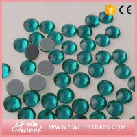 Buy cheap Factory Wholesale Blue Zircon Hotfix Rhinestones Dance Wear Decoration Fashion Accessories Crystal Studs Shimmer Gifts from wholesalers