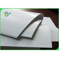 China White C2S Art Paper Jumbo Roll Art Card 300gsm For Printing / Packaging on sale