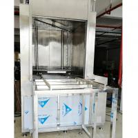 Buy cheap Rotate Spray Force Automatic Cleaning Machine , Large Spare Parts Ultrasonic Cleaning Machine from wholesalers