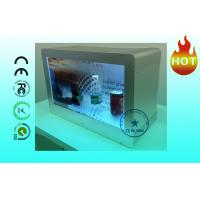 Buy cheap HD Advertising 22 Transparent LCD Display Wall mount With Show Case from wholesalers