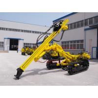 Crawler Pneumatic Rock Drilling Machine , Atlas Copco CM351 DTH Drilling Rig