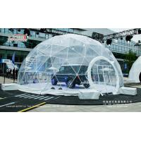 Buy cheap Hot Sale Transparent Geodesic Round Dome Tent for Outdoor Event from wholesalers