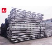 Buy cheap Long Span Outdoor Aluminum Foldable Arched Roof Scaffold Truss For Exhibition from wholesalers