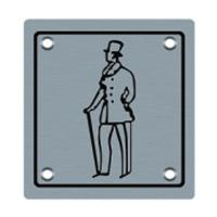 Buy cheap Gentleman signage metal sign plate (BA-P013) from wholesalers