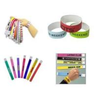 Buy cheap Disposable Tyvek Paper ID Wristband, Measures 250 X 25mm, Small Orders Are Welcome from wholesalers