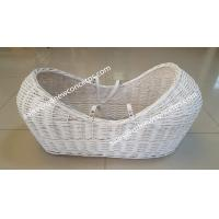 Buy cheap China factory  high quality baby basket bassinet wicker pod basket for baby sleeping from wholesalers