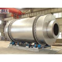 Buy cheap Low Fuel Consumption Sand Dryer Machine Rotating Drum Dryer With Burner Natural Gas from wholesalers