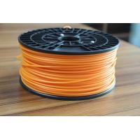Buy cheap 3D Orange 3mm PLA Filament / 3D Printer PLA Filament , Grade A product