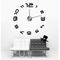 Buy cheap 3D Modern EVA Wall Sticker Metal Clock Home Decoration 12S008 from wholesalers