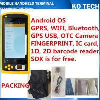 Buy cheap KO-HM606 Handheld Rfid Fingerprint Sensor Barcode Reader from wholesalers