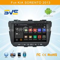 Buy cheap Android 4.4 car dvd player GPS navigation for KIA Sorento 2013 with 1G DDR3 RAM 1080P from wholesalers