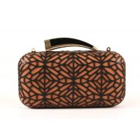 Buy cheap Hollow Out Style Ladies Leather Clutch Bags Luxury With Shoulder Chain from wholesalers