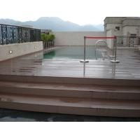 Buy cheap super cheap wear resistant outdoor portable decking wpc diy boards from wholesalers