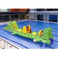 Buy cheap Custom Alligator Inflatable Water Toys Aqua Game For Children In Swimming Pool from wholesalers