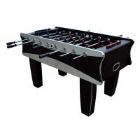 Buy cheap Black / Silver Indoor 5FT Soccer Table MDF Football Table For Family 61 KG from wholesalers