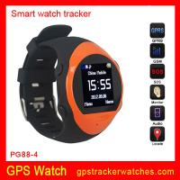 Buy cheap Quad-bands GPS Tracker watches support MP3/MP4 player from wholesalers